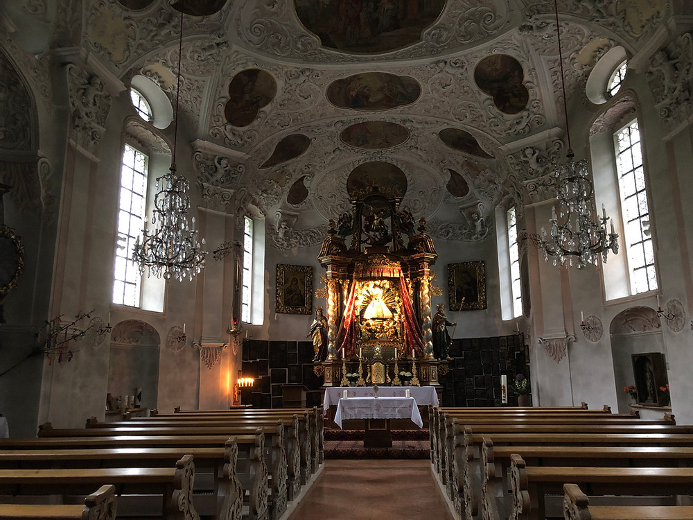 Blaskapelle Maria Gern bei Berchtesgaden