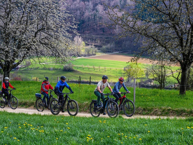 E-Bike im Ober-Baselbiet