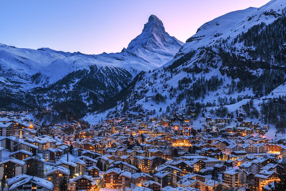 Zermatt und Matterhorn