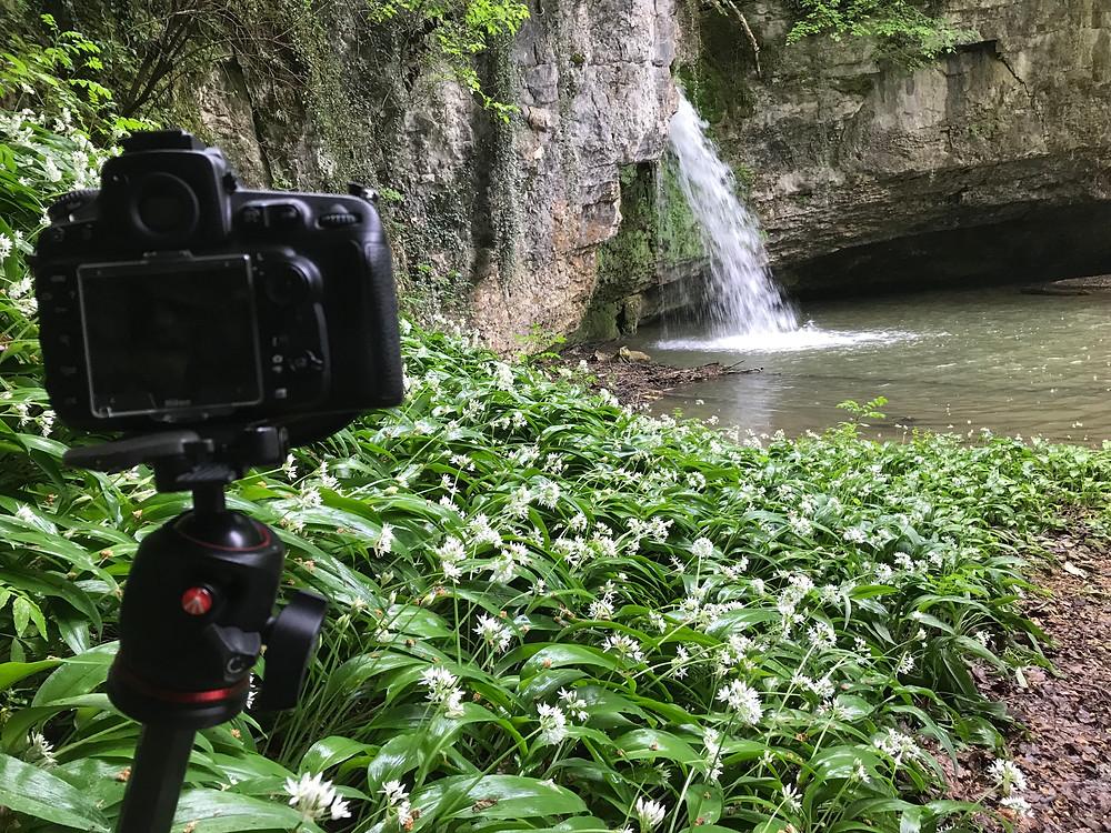 Wasserfall Giessen bei Kilchberg