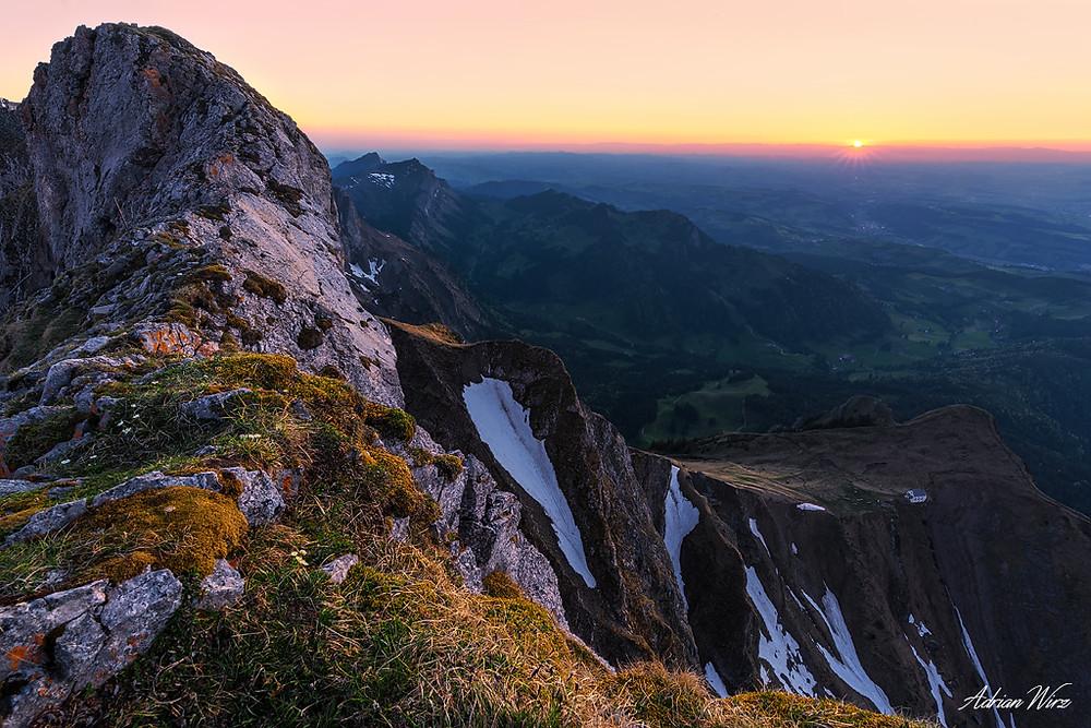 Pilatus Sonnenuntergang