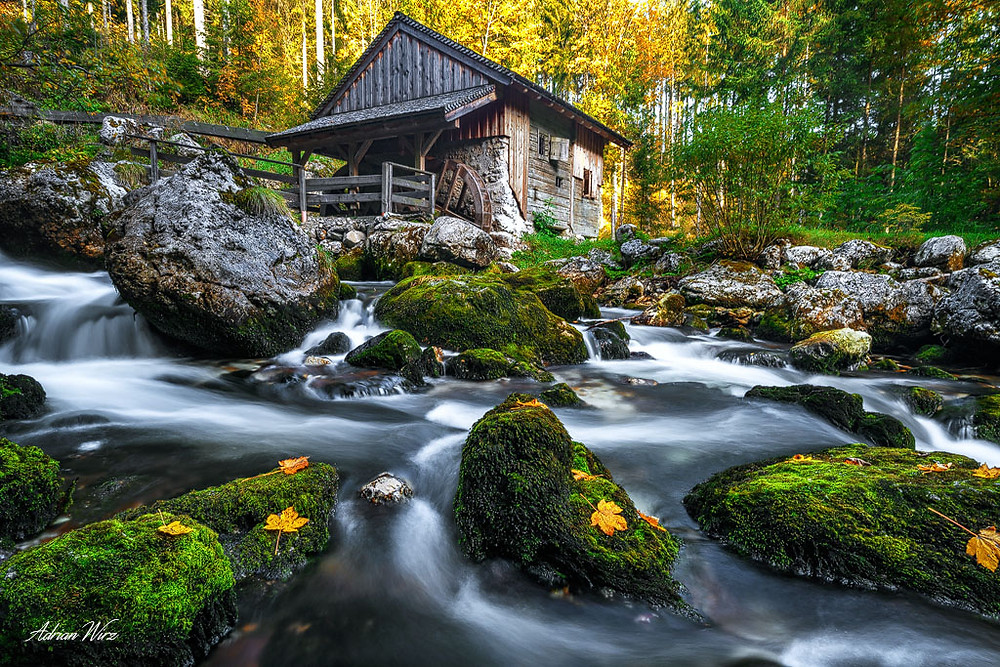 Fotoworkshop Wasserfall
