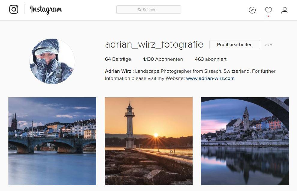 Adrian Wirz Instagram