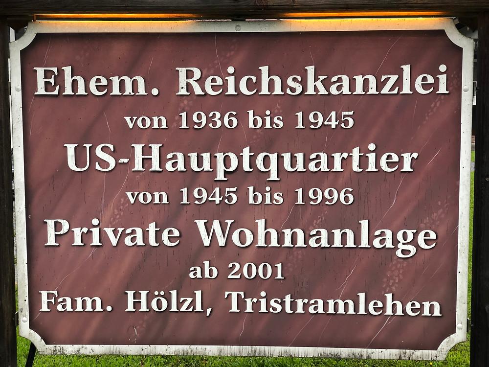 Hitlers kleine Reichskanzlei in Bischofswiesen
