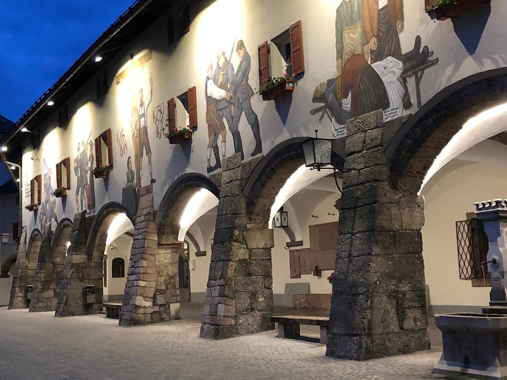 Schlossplatz in Berchtesgaden