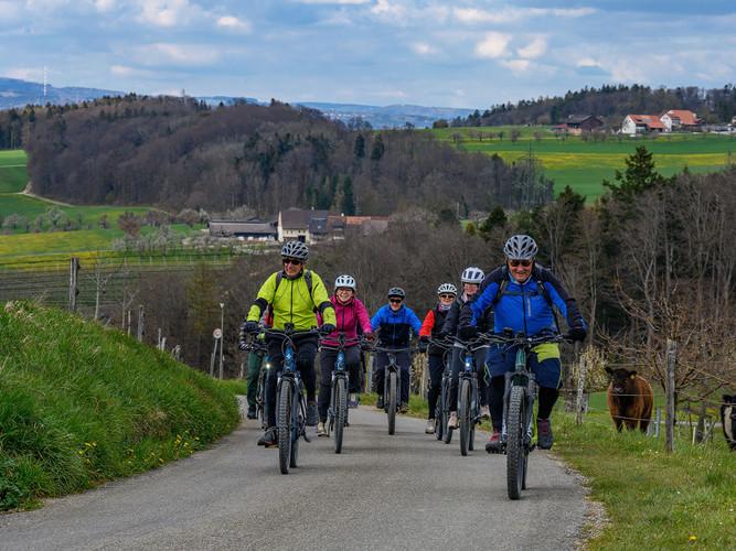 E-Bike im Baselbiet