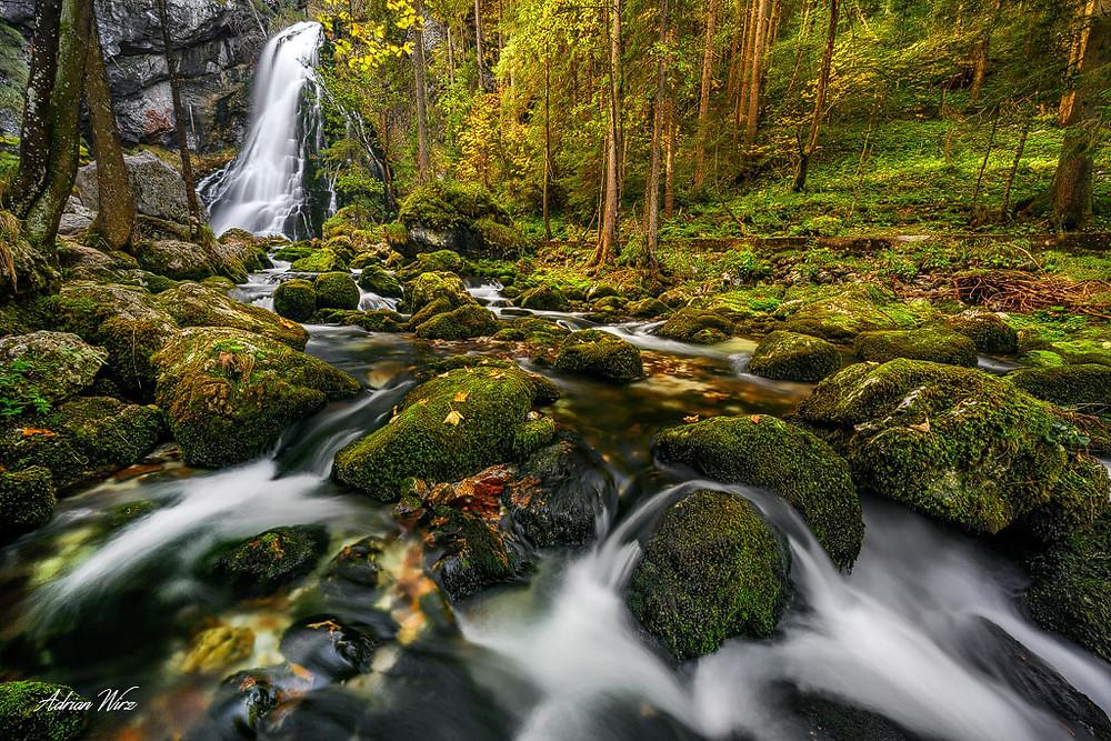 Foto-Workshop-Gollinger Wasserfall