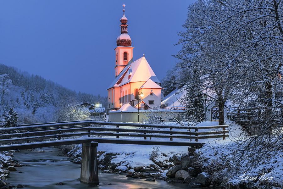 Kirche St. Sebastian in Ramsau