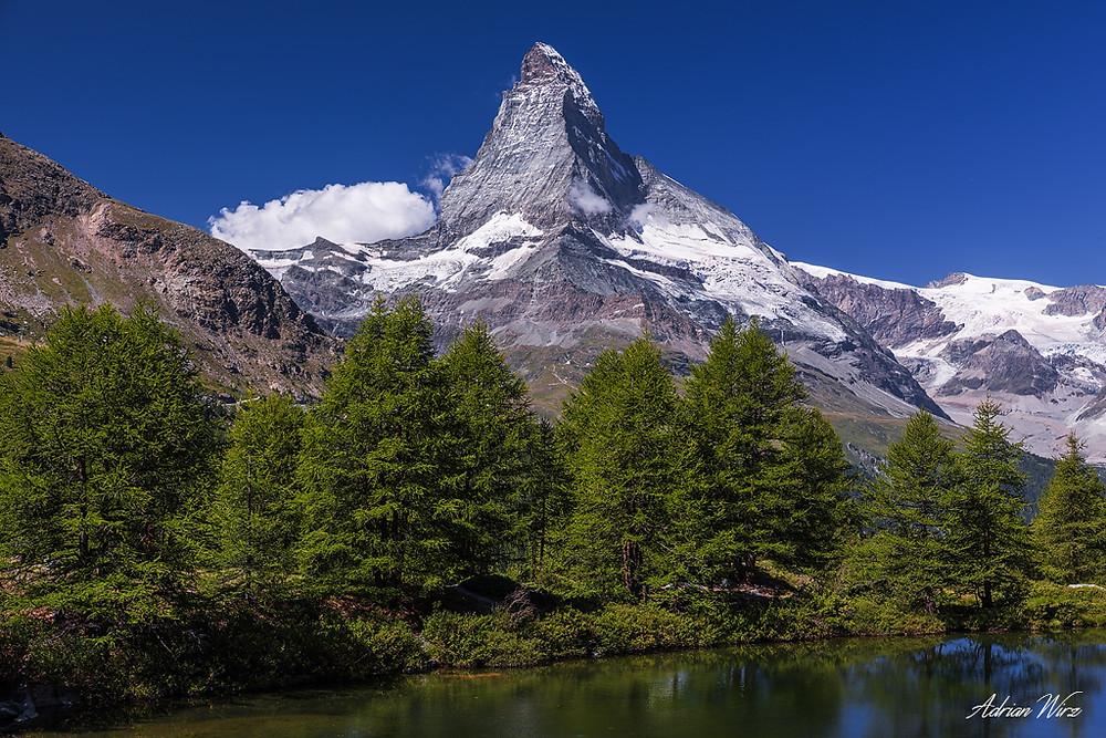 Das Matterhorn mit Blick vom Grindjisee