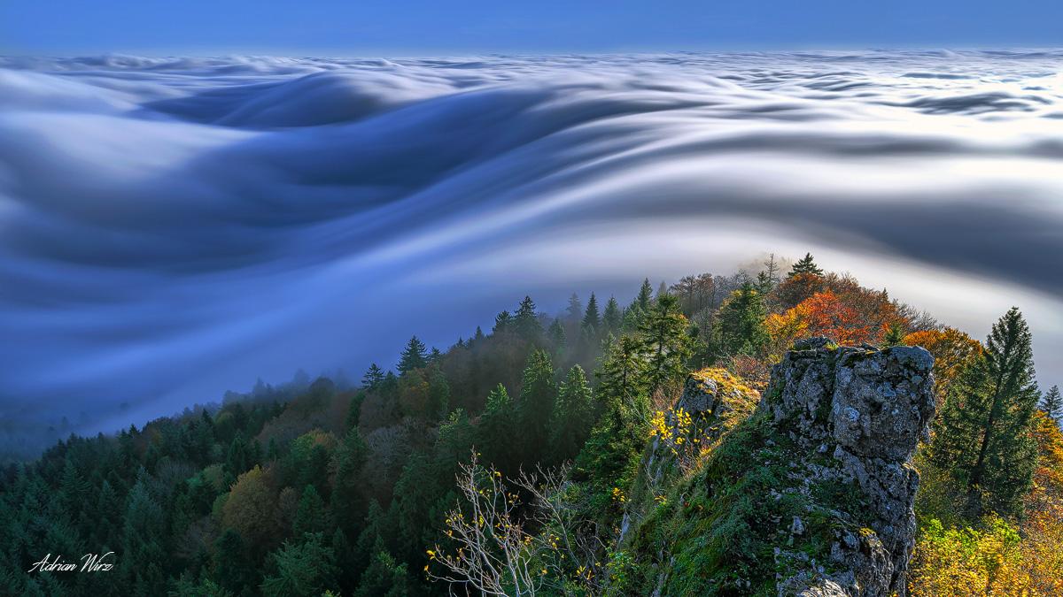 Nebelwelle - Belchenfluh