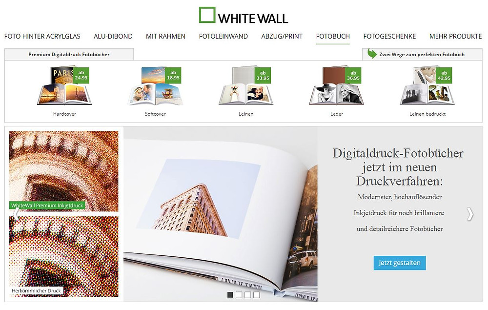 WhiteWall Fotobuch