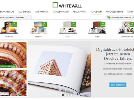Fotobuchtest: WHITE WALL Premium