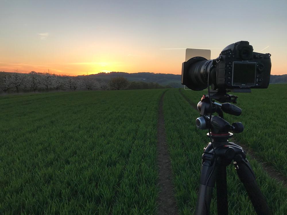 Sonnenaufgang in Buus Baselland