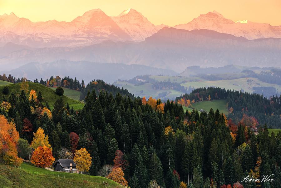 Lüderenalp - Emmental - Eiger, Mönch und Jungfrau
