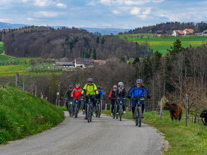 E-Bike Tour im Baselbiet