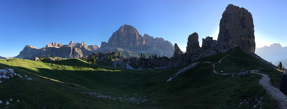 Panorama Cinque Torri