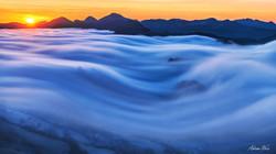 Nebelwelle im Baselbiet