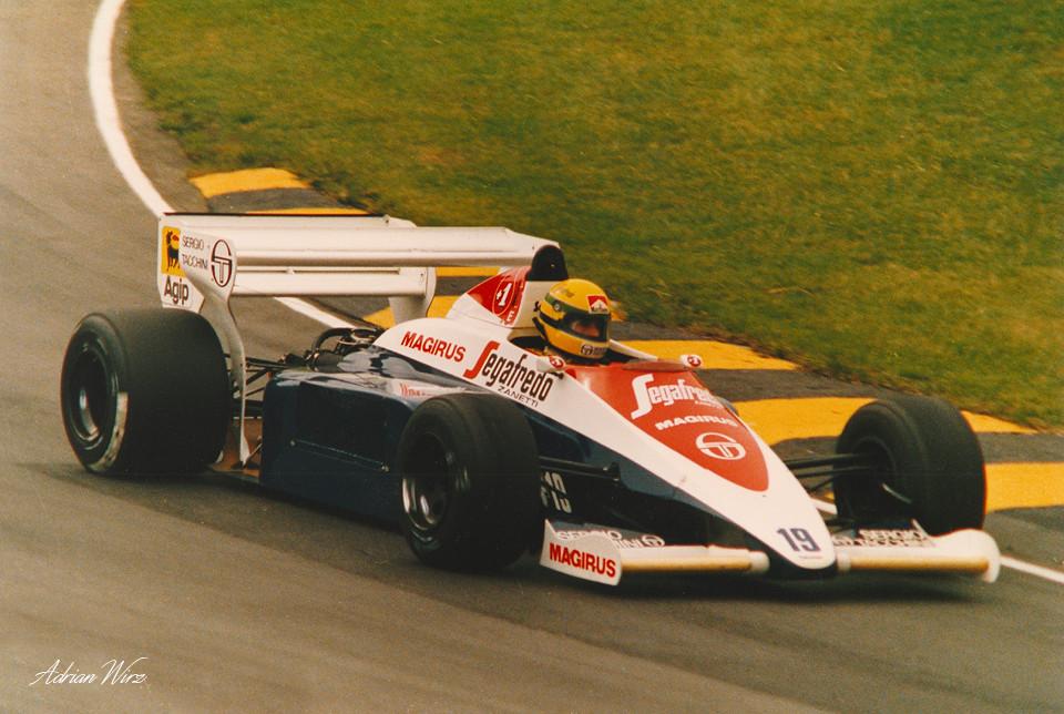 Ayrton Senna Toleman Hart 1984
