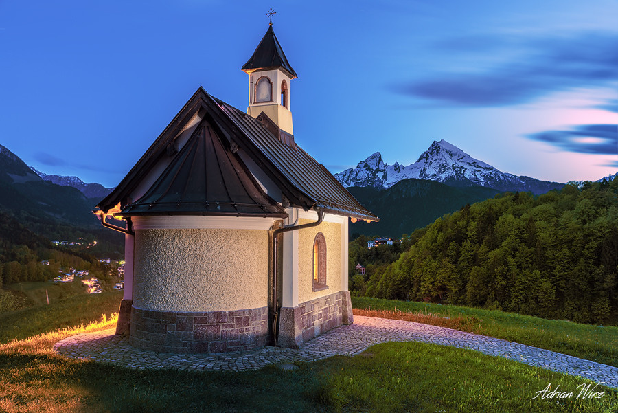 Kirchleitn Kapelle bei Berchtesgaden
