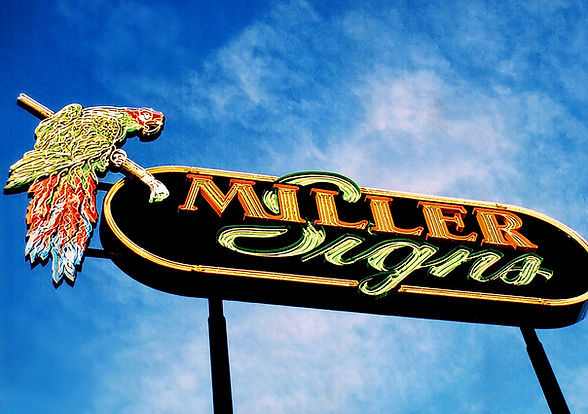 Miller Signs Architectural and Commercial Signs