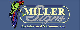 Miller Signs Architectural & Commercial Signs
