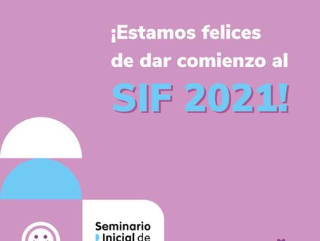 Comenzamos el SIF 2021