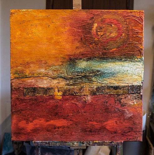 21. Red Landscape