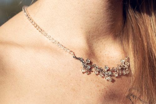 Fiore Donna (Zilver en bergkristal)