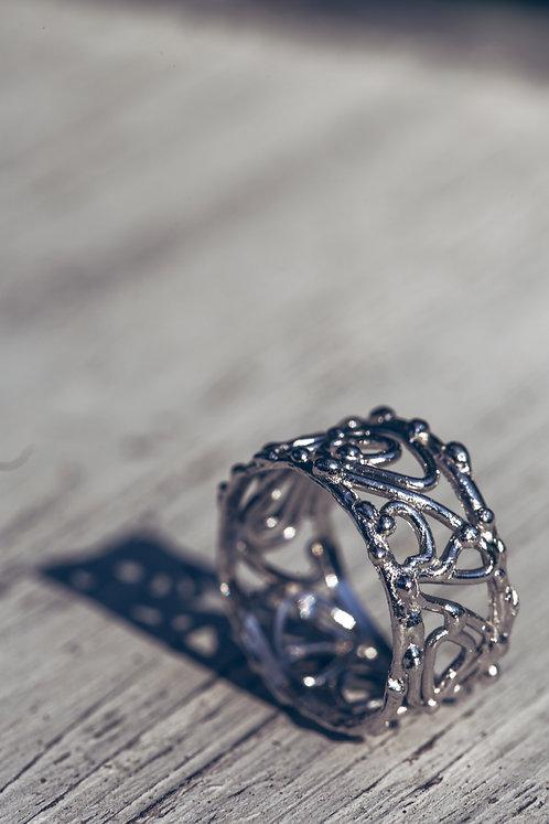 Goccia (Witgouden ring)