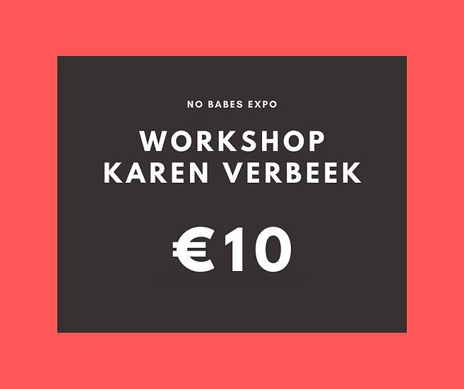 Workshop: Jezelf durven zijn - Karen Verbeek