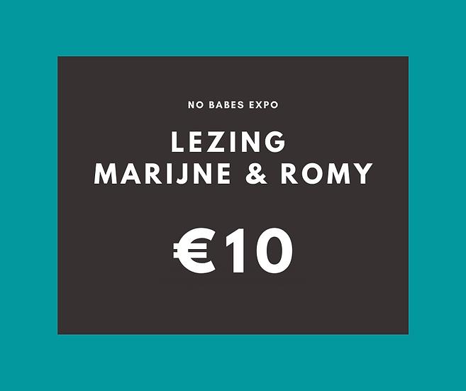 Lezing: Fatshaming - Marijne Van Boeckel & Romy Schlimbach