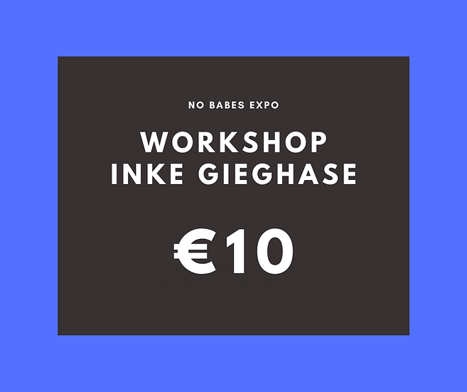 Workshop: Slam Poetry - Inke Gieghase