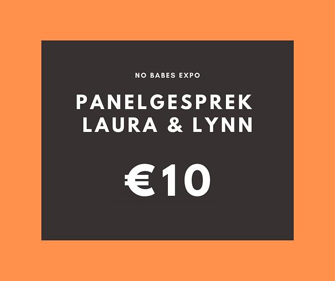 Panelgesprek: Chronisch ziek zijn - Laura Van der Vorst & Lynn Formesyn