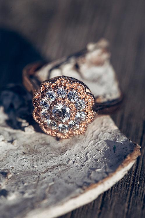 Rosa (Diamant en 18K rosé goud)