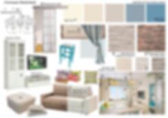Concept House Концепт хаус. Кухня в неоклассическом стиле в светлых тонах. Стены кухни декорированы бежевыми обоями с геометрическим рисунком. Фартук и стена с окном выложены белыми глянцевыми прямоугольными плиточками «кабанчик». Фасады кухни комбинированные. Навесные шкафы имеют светлые белые фасады. Низ кухонного гарнитура и шкафы под встроенную технику имеют серо-зеленые фасады. Вытяжка над газовой конфоркой встроена в навесной шкаф. Столешница выполнена из искусственного камня бежевого цвета под природный камень мрамор или гранит. Раковина расположена у окна. Стиральная машинка встроена в кухонный гарнитур, закрывается стеклянной дверкой. Духовой шкаф встроен на уровне столешнице. В роли точечного освещения выбраны накладные споты белого цилиндрического вида. Окно декорировано светлым белым тюлем со сборкой.