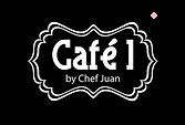 Cafe 1 Black Logo.png