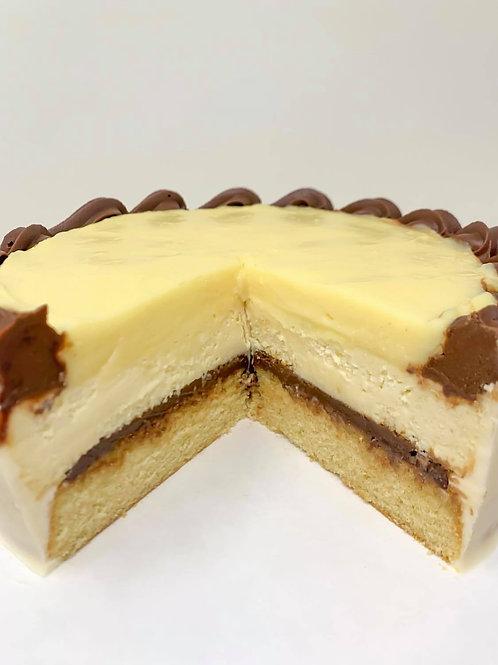 Boston Cream Cake Cheesecake