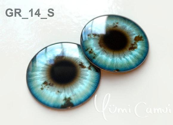 Blythe eye chip 14 mm GR_14