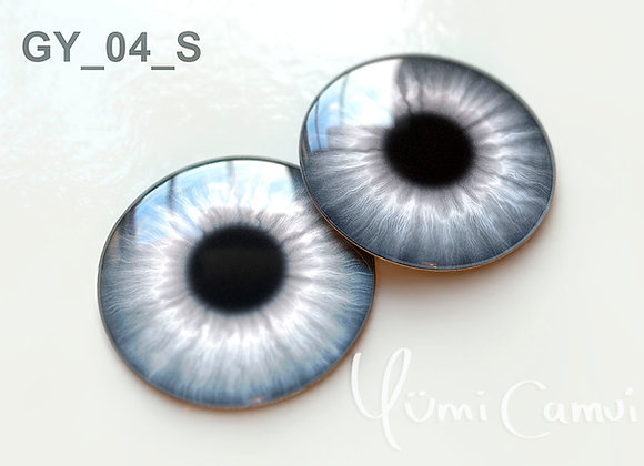 Blythe eye chip 14 mm GY_04