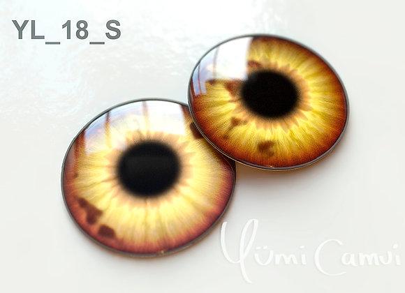 Blythe eye chip 14 mm YL_18