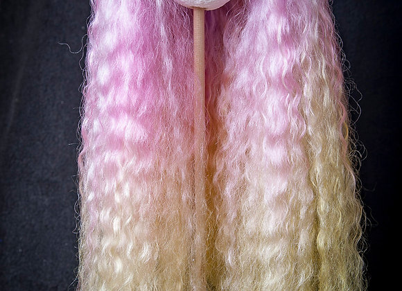 Natural Lincoln Locks hair Blythe reroot