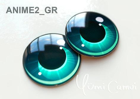 Blythe eye chip 14 mm Anime2