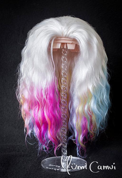 Natural angora goat hair Blythe reroot