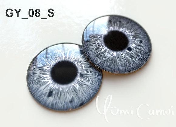 Blythe eye chip 14 mm GY_08
