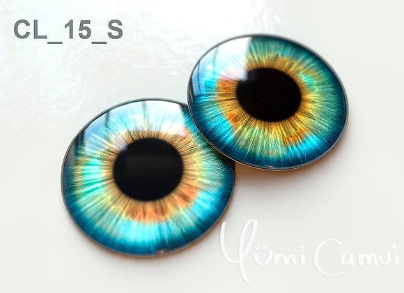 Blythe eye chip 14 mm CL_15