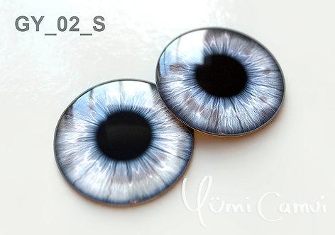 Blythe eye chip 14 mm GY_02