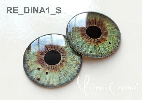 Blythe eye chip 14 mm RE_DINA1