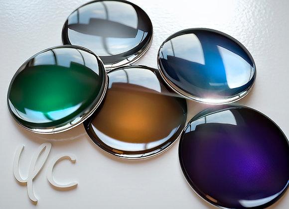 Solid color Blythe eye chip 14 mm