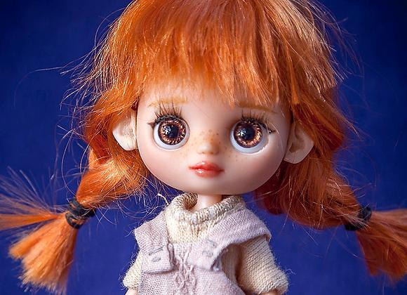 Custom ears for Petite Blythe
