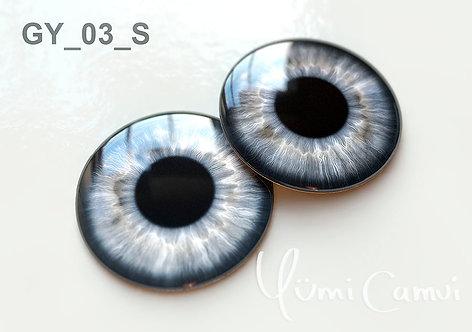Blythe eye chip 14 mm GY_03